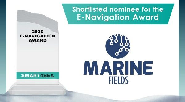 MarineFields has been shortlisted for the SMART4SEA E-Navigation Award